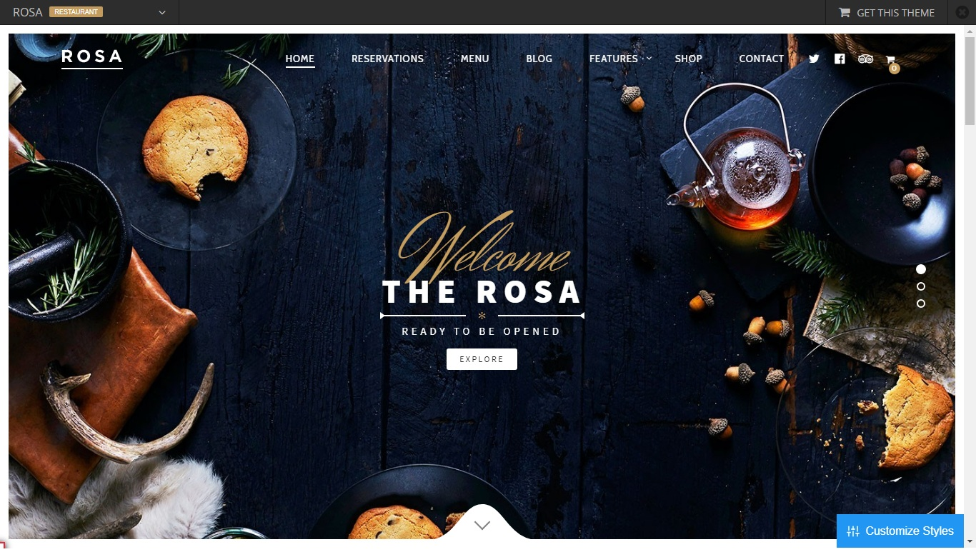 Best WordPress Restaurant Themes For Your Business 2018